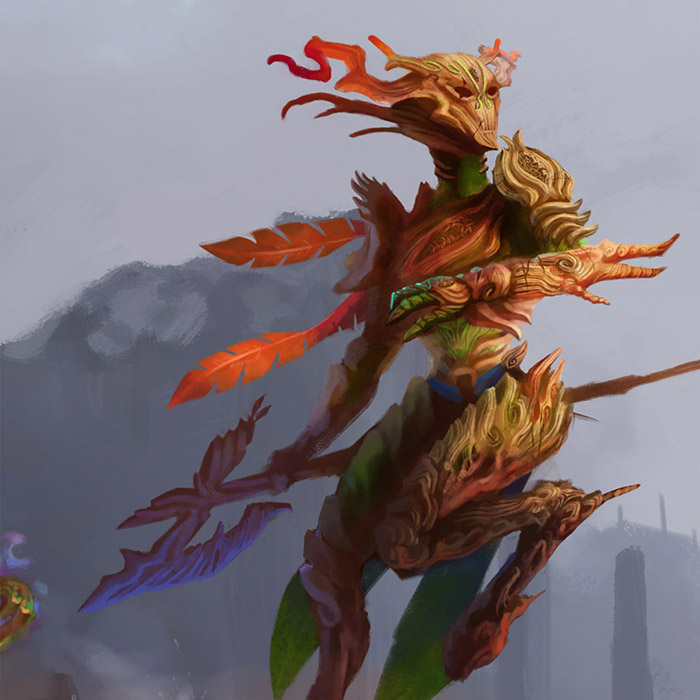 Fauwn-warrior-great-axe-details